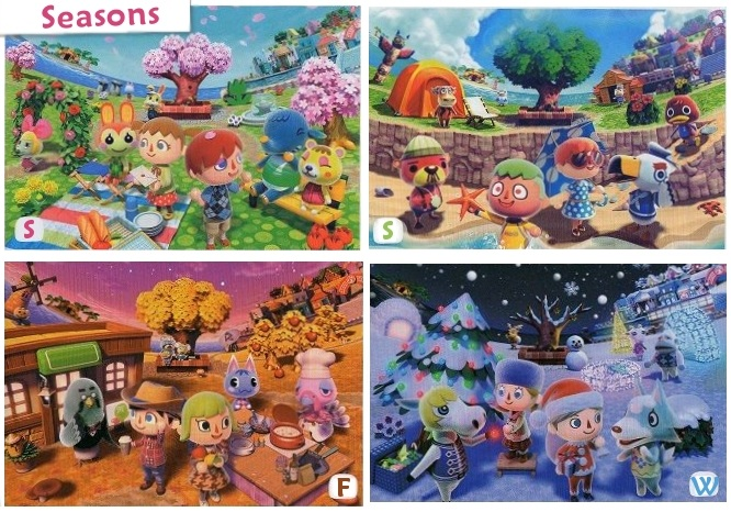 animal crossing new leaf-Seasons