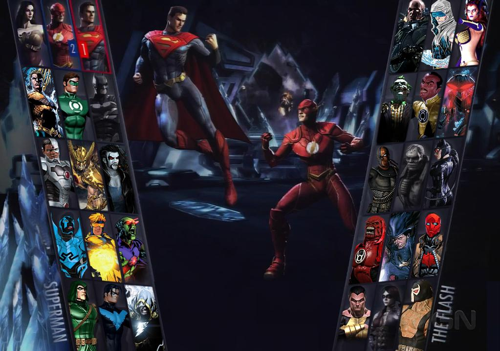 Injustice: Gods Among Us Character-Select