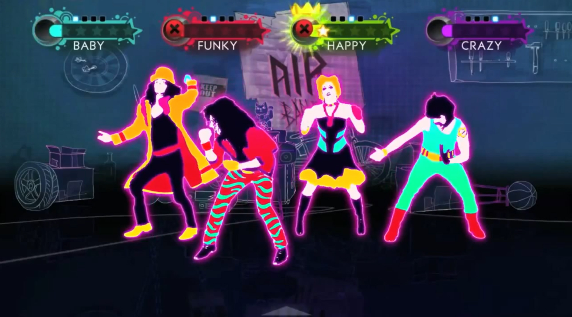 how to play just dance 2018 with your friend