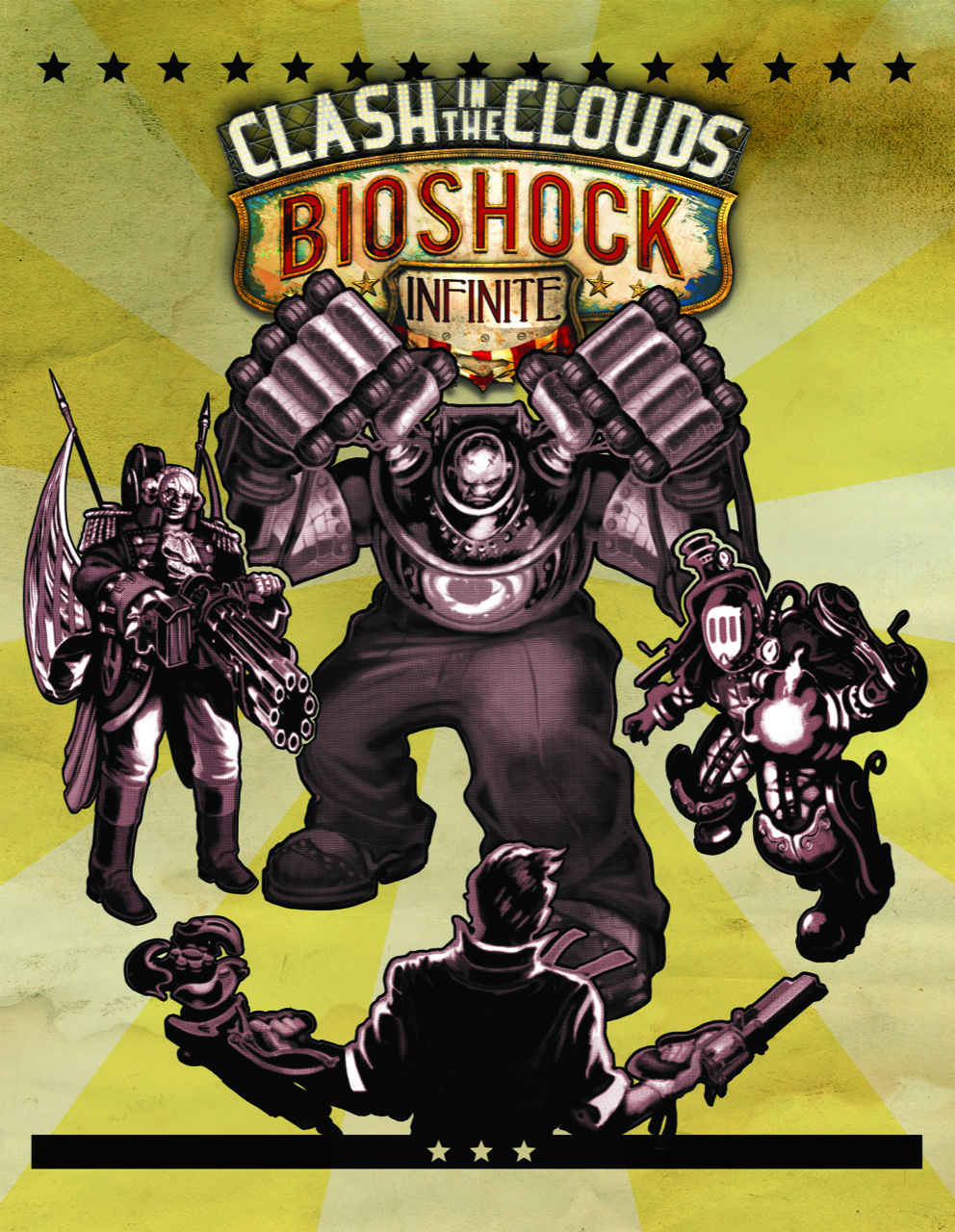 Bioshock Infinite DLC - Clash in the Clouds