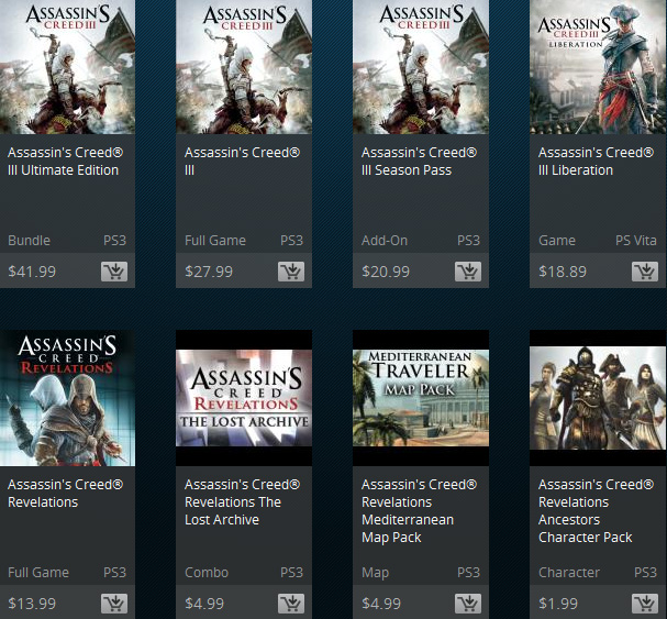 Assassin S Creed Series On Na Psn Is Getting A Huge Sale This Week