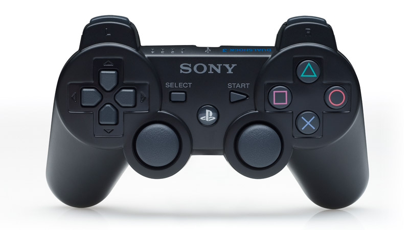 The Popular DualShock Controller. Which Retained Its Design Since The First DualShock 1 Controller For PSone.
