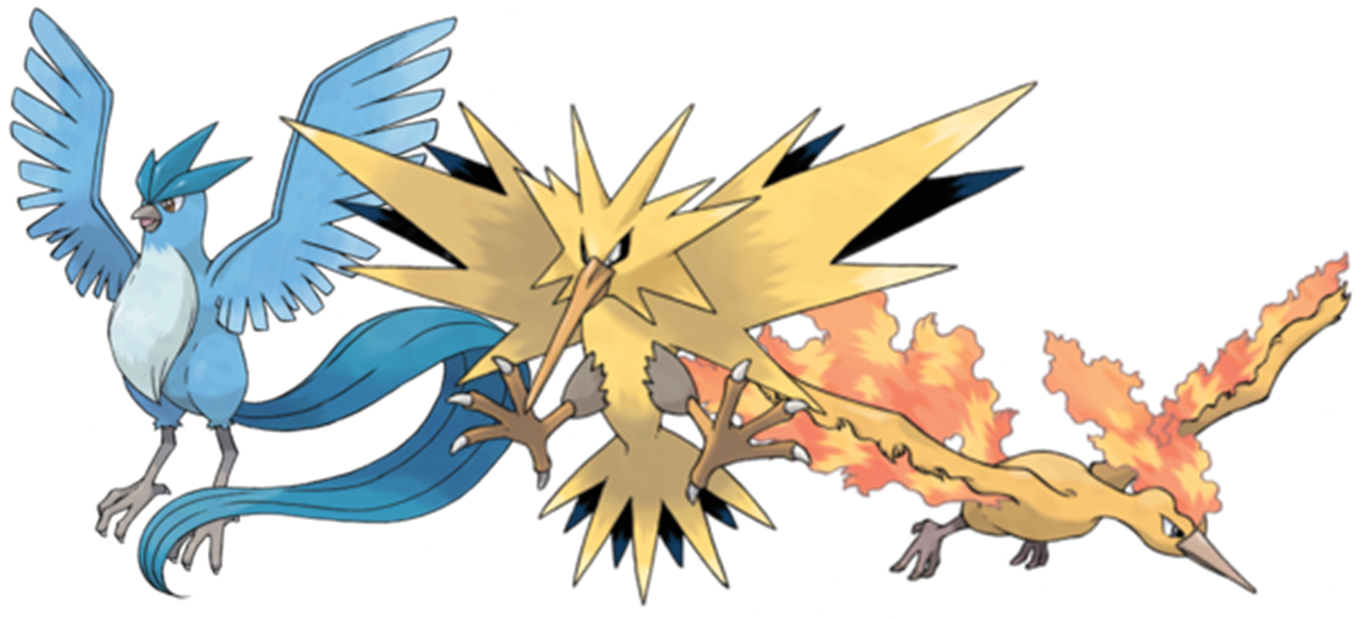 Pokemon X and Y: Where to catch Moltres, Articuno and Zapdos