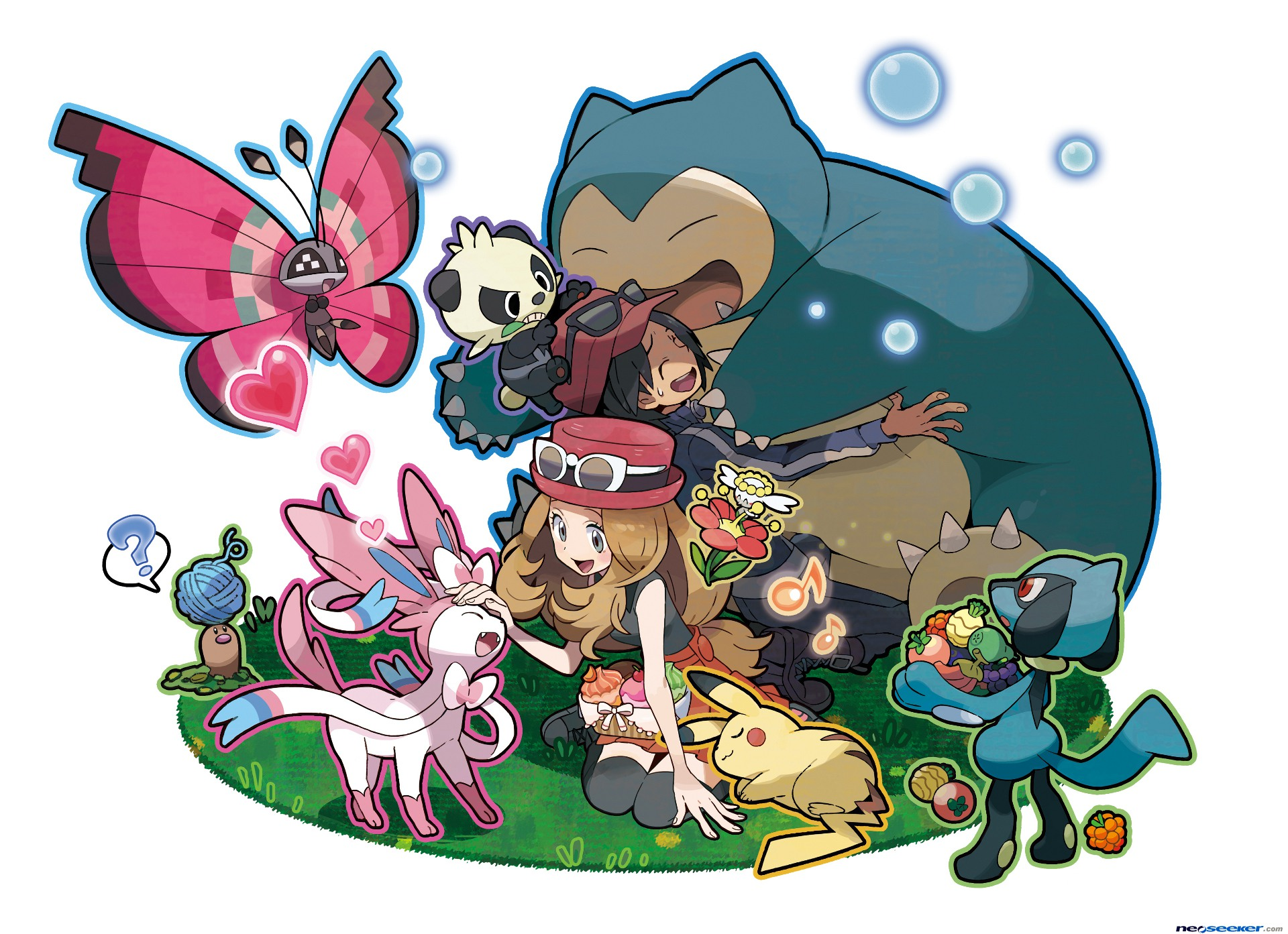 Pokemon X And Y Version Exclusive Pokemon List