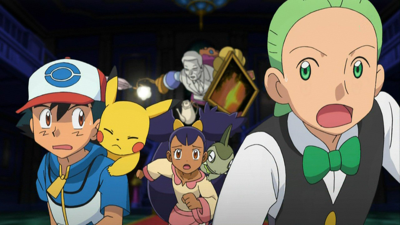 Show and characters pokemon black white