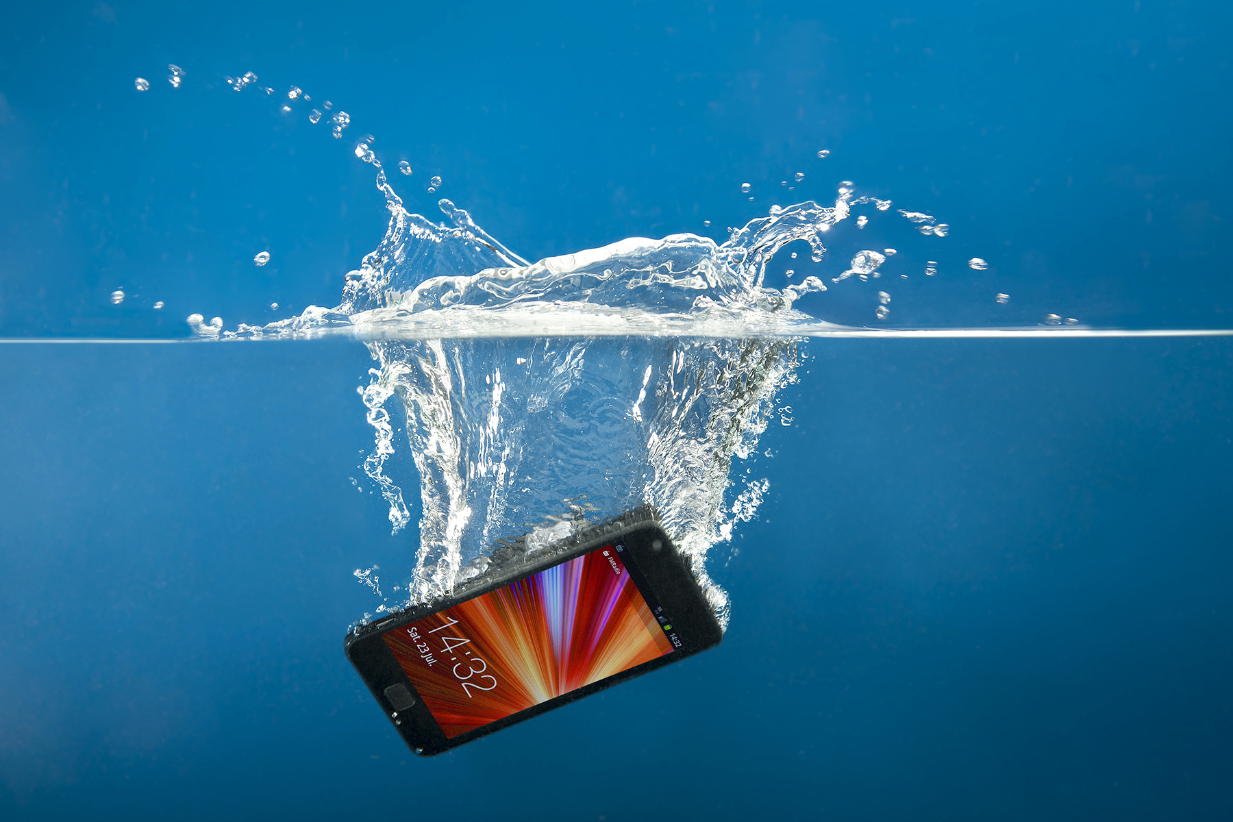 Six steps that will save your smartphone or tablet from a watery grave