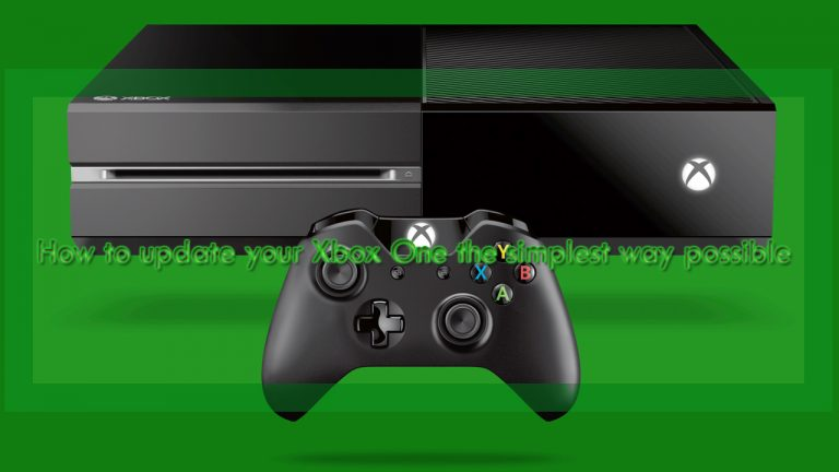 How to update your Xbox One the simplest way possible