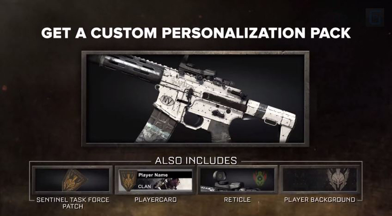 Call Of Duty Advanced Warfare Pre Order Camo Now Available On