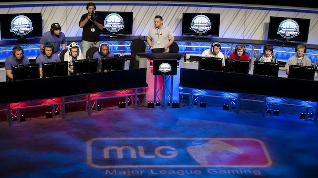 Thousands of video game enthusiasts attend  the Major League Gaming Pro Circuit Competition at the Gaylord Convention Center in Oxon Hill, Maryland on October 17, 2010.
