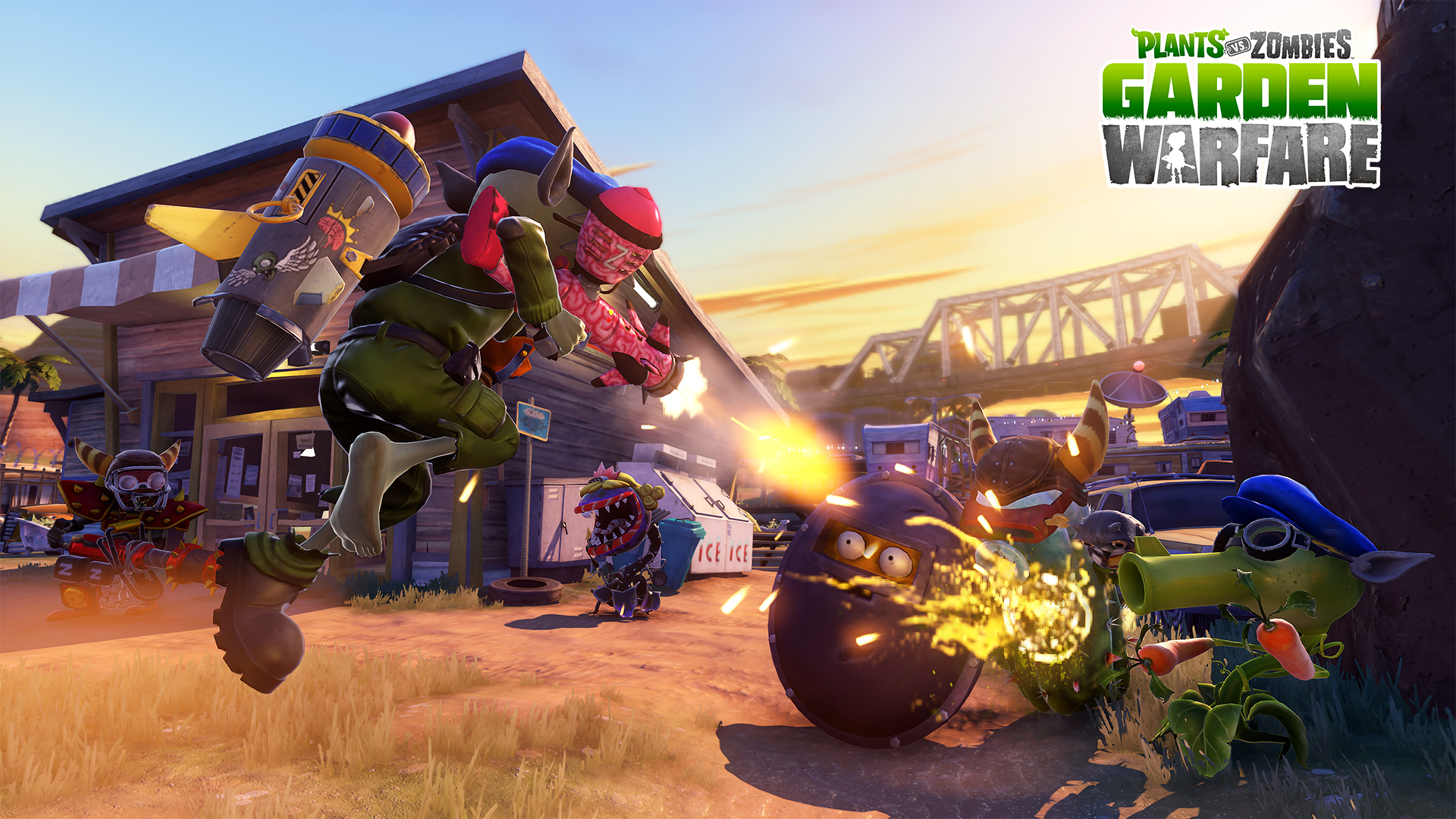 Plants vs zombies garden warfare confirmed for playstation consoles 1080p and 60 fps on ps4 for Plants vs zombies garden warfare 2 ps4