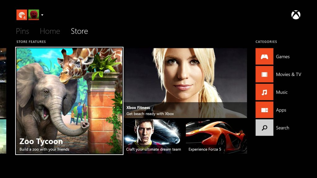 xbox-one-store-new-look