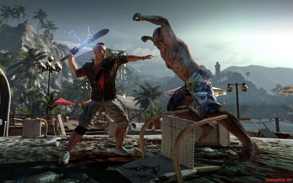 Dying light combat