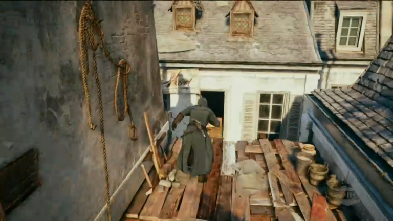 Assassin S Creed Unity In Game Features And Gameplay Featured On