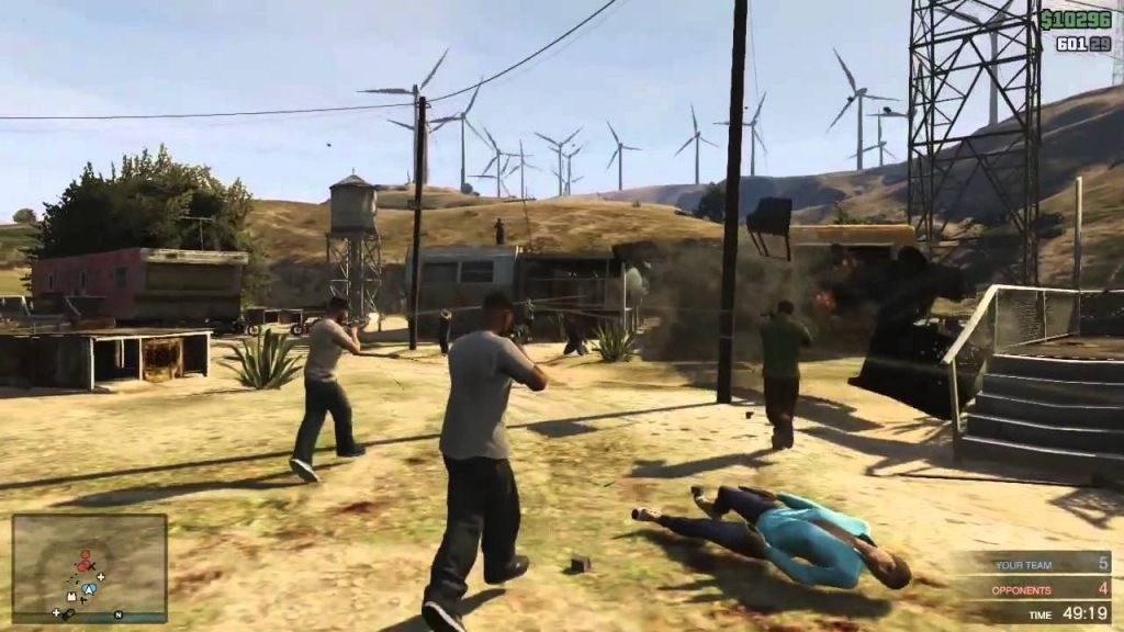 gta v online gameplay