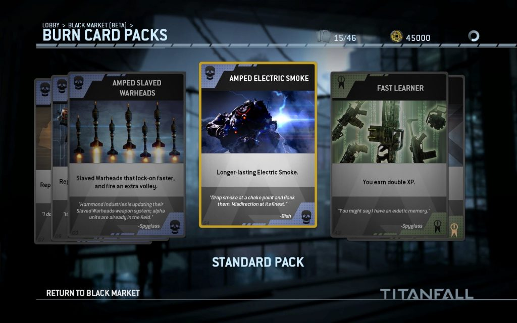 Standard Pack