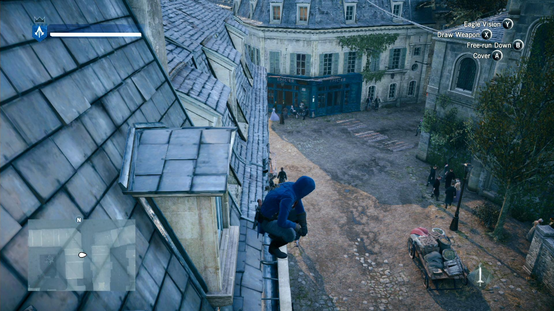 how to keep enemys coming assassin creed unity