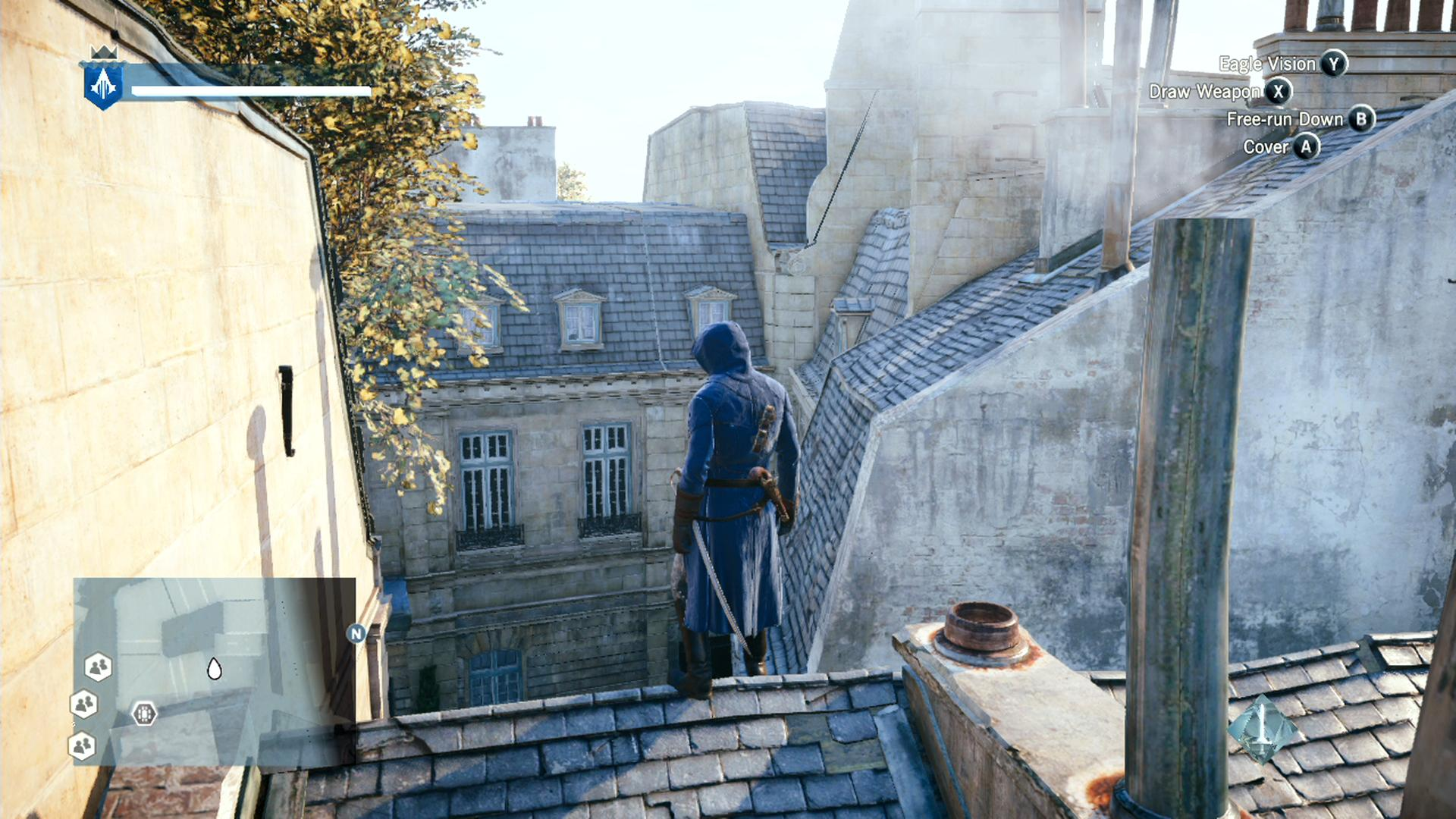 Assassin S Creed Unity Screenshots Leaked From Beta Xbox One Build
