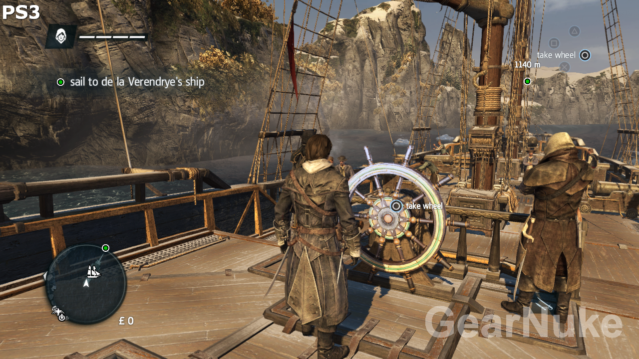 Assassin S Creed Rogue Pc Vs Consoles Screenshot Comparison