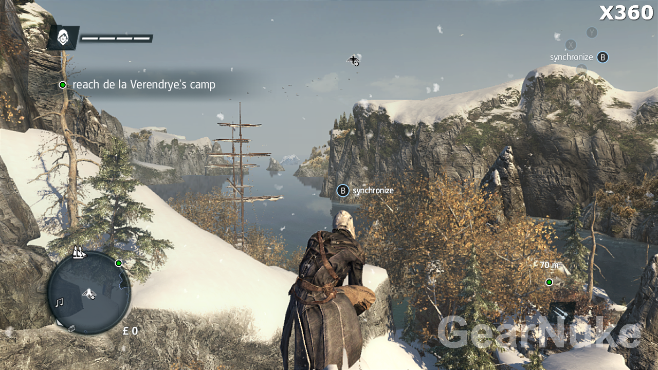 Assassin S Creed Rogue Ps3 Vs X360 Image Comparison Shows X360