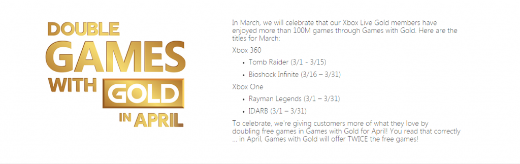 games-with-gold-march