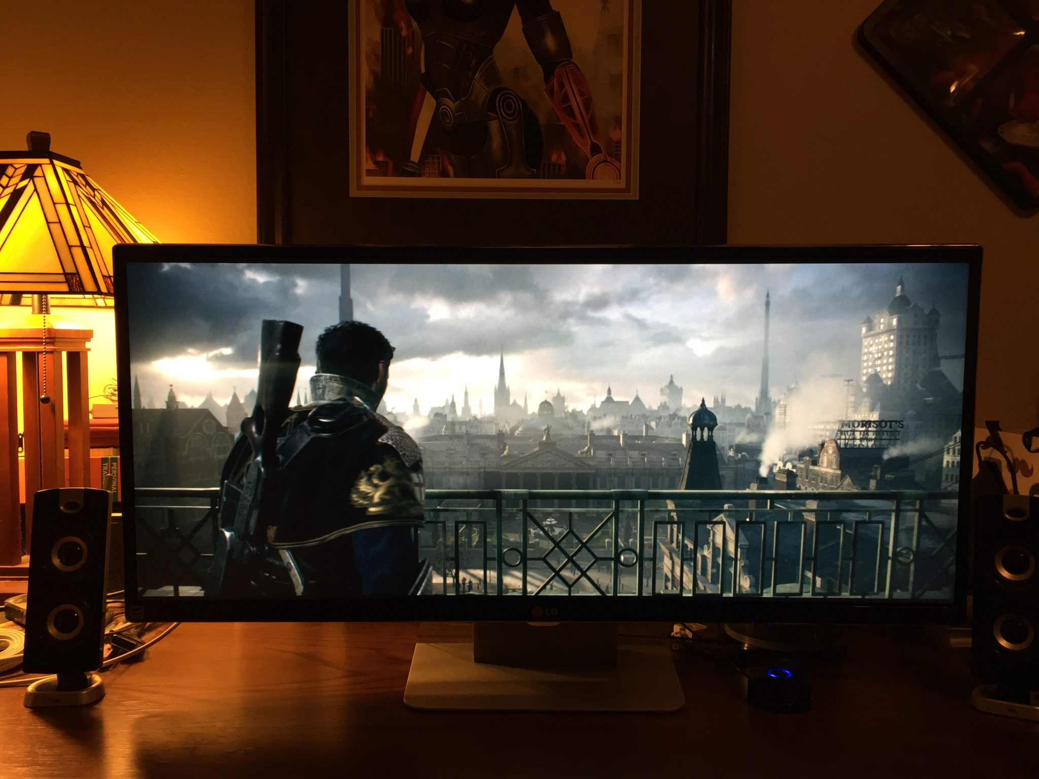 This Is How The Order 1886 Looks On A Native 21 9 Monitor