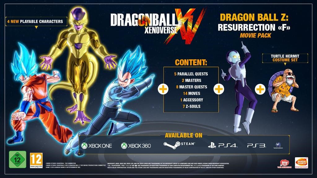 Dragon Ball XenoVerse DLC Pack 3 revealed, best pack yet