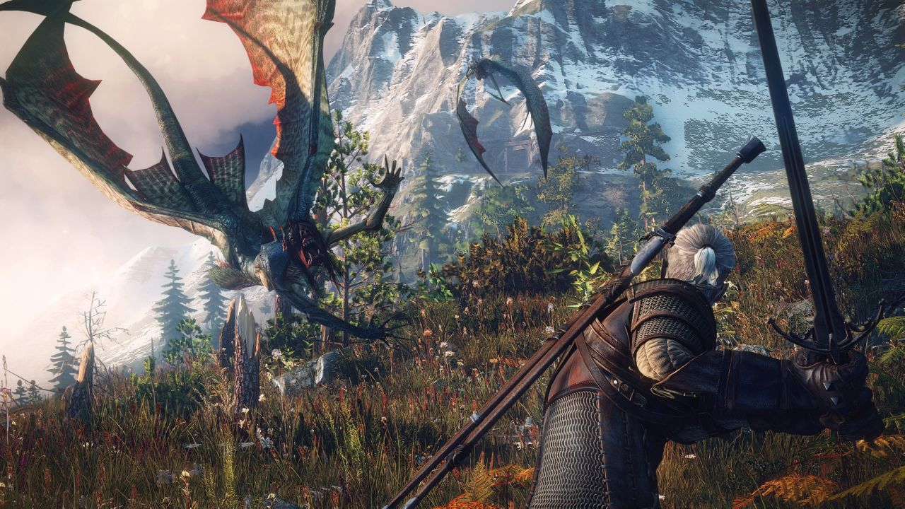 the witcher 3 wild hunt xbox one version looks great. Black Bedroom Furniture Sets. Home Design Ideas