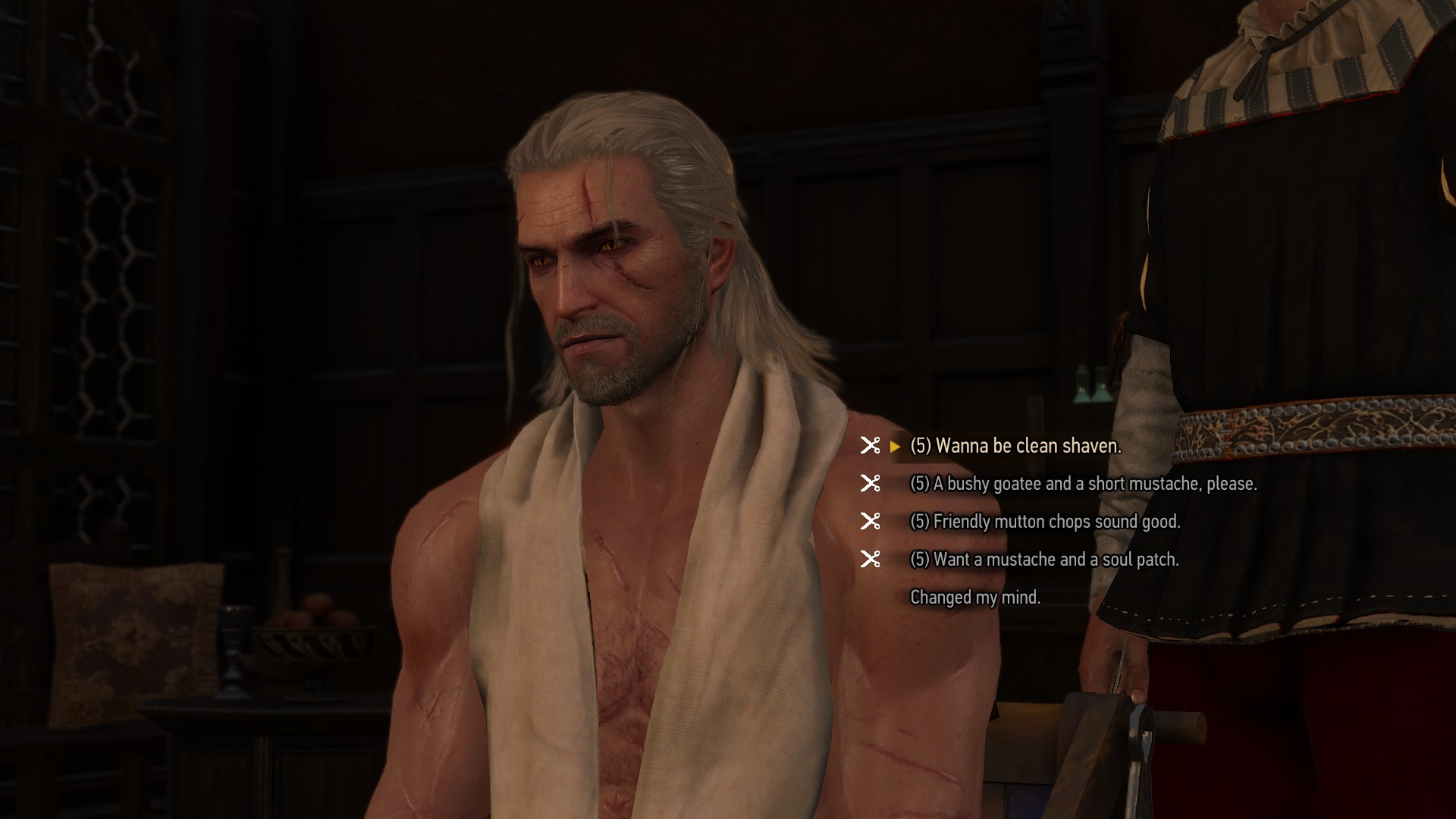 The Witcher  Wild Hunt Guide How To Get Hairstyles Beard DLC - Good places to get hair cut