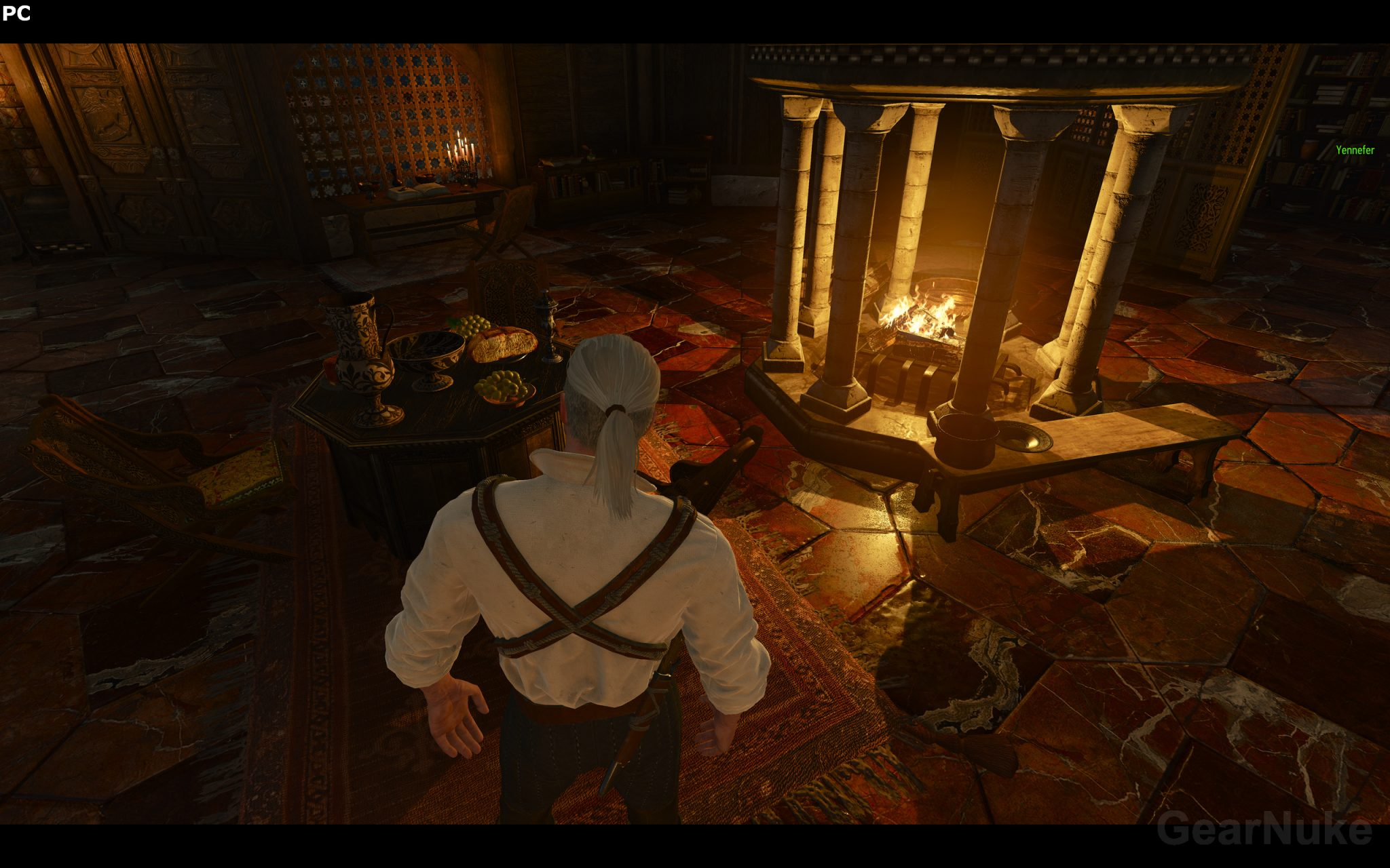 the witcher 3 screenshot comparison between pc at 5k versus ps4 show surprisingly good result. Black Bedroom Furniture Sets. Home Design Ideas