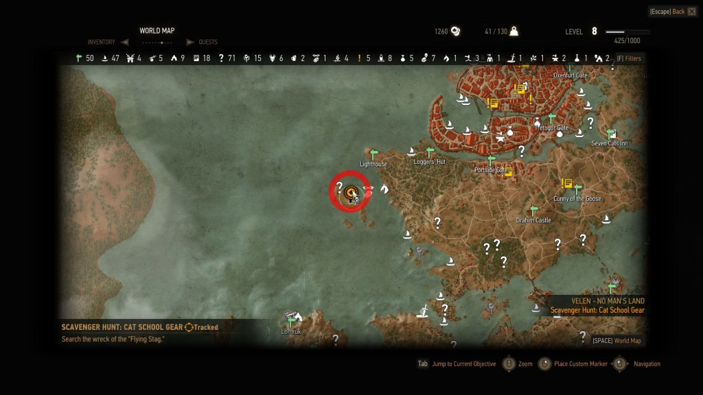 witcher3-feline-crossbow-location
