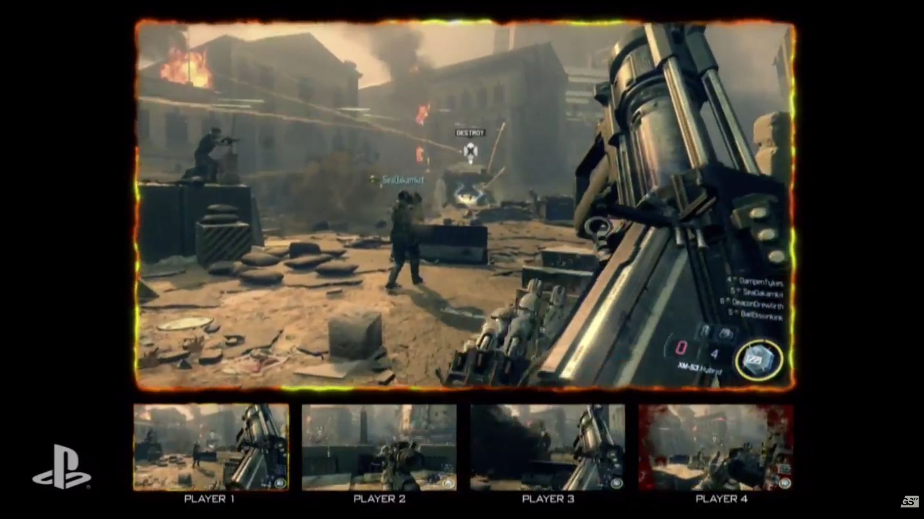 Call Of Duty Black Ops 3 Gets Gameplay Shown Off At Sony S E3