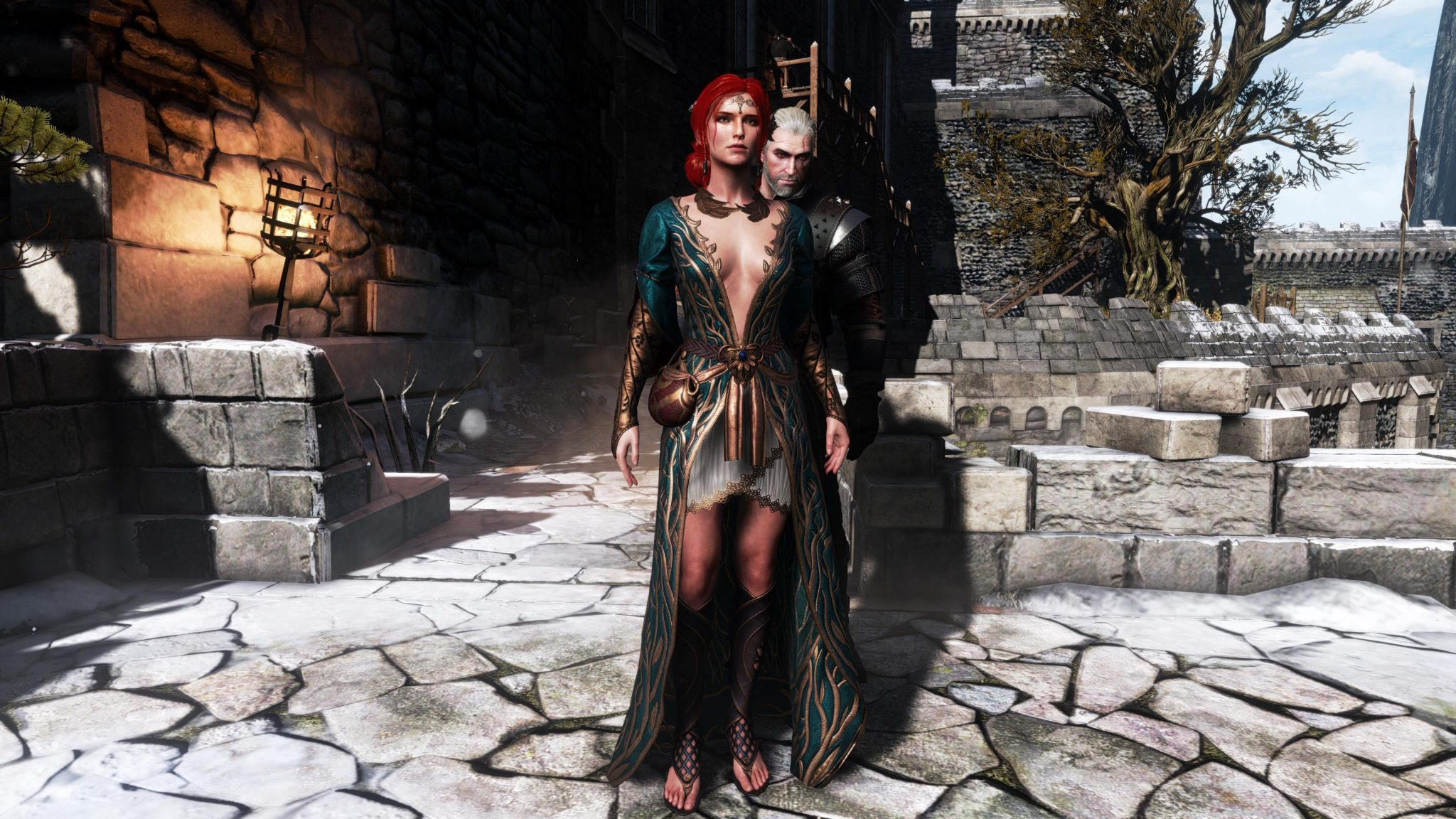 🔥 Witcher 3 Free DLC: Alternative Look for Triss (How to