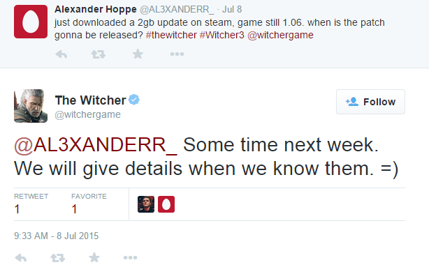 the-witcher-3-patch-tweet