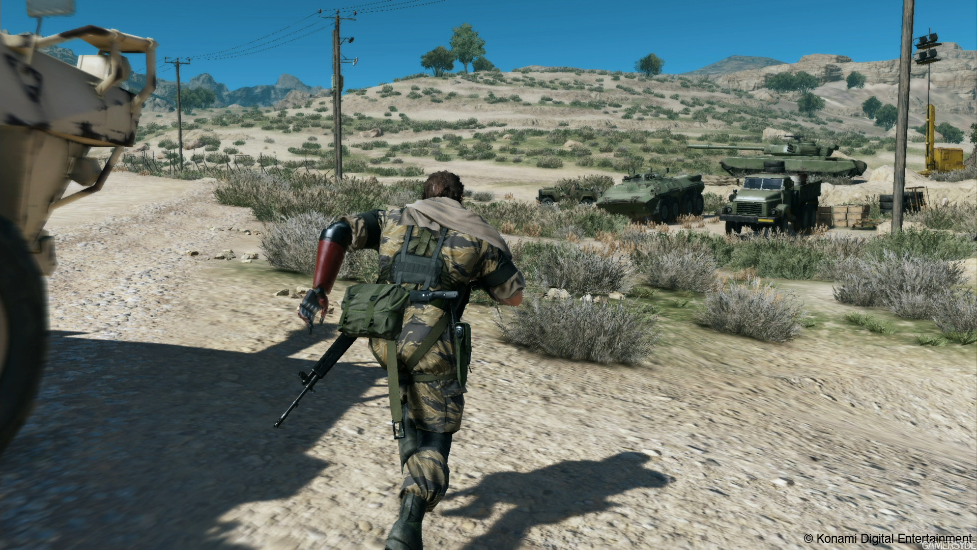 metal gear solid v the phantom pain day 1 update is live adds fob