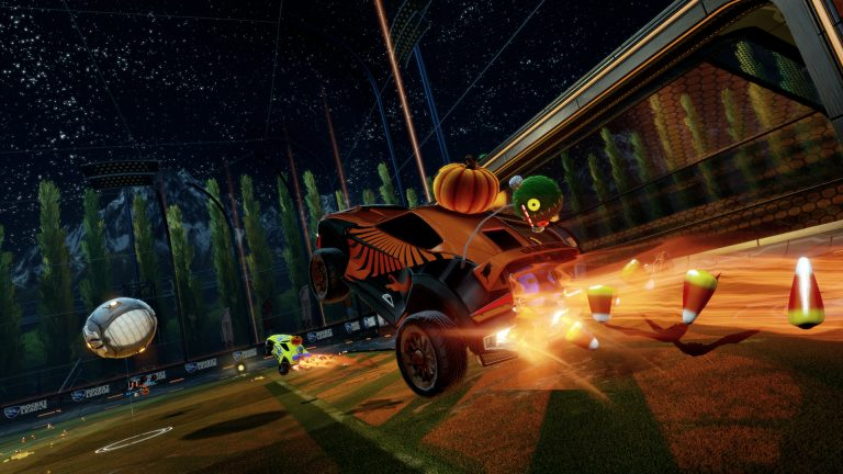 Rocket League Free Halloween Items Are Now Available For Limited ...