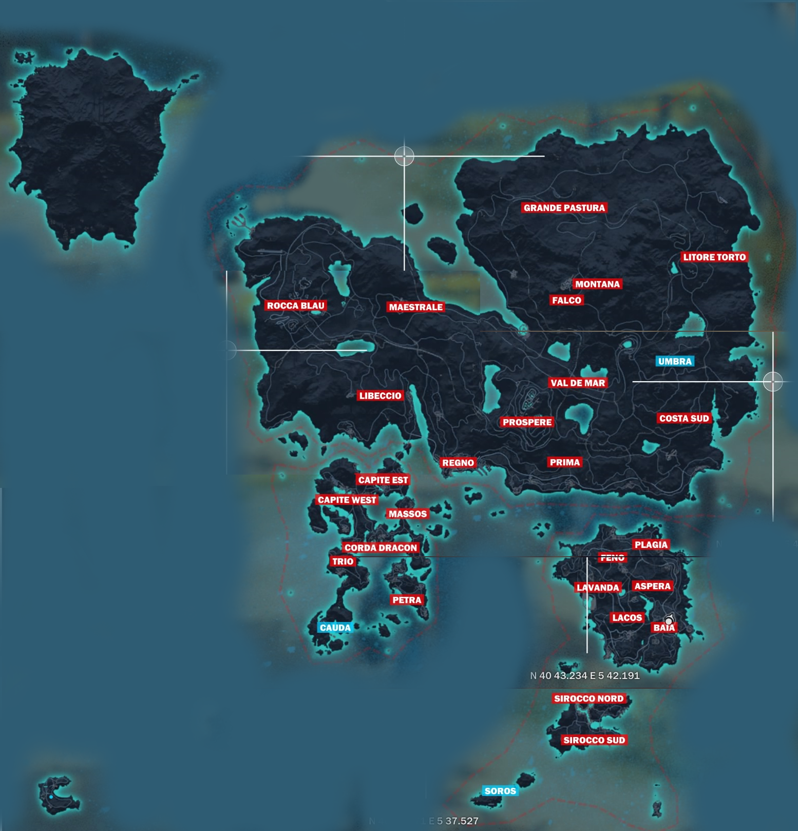 Just Cause 3 Full World Map Size Revealed, Compared With Just Cause 2