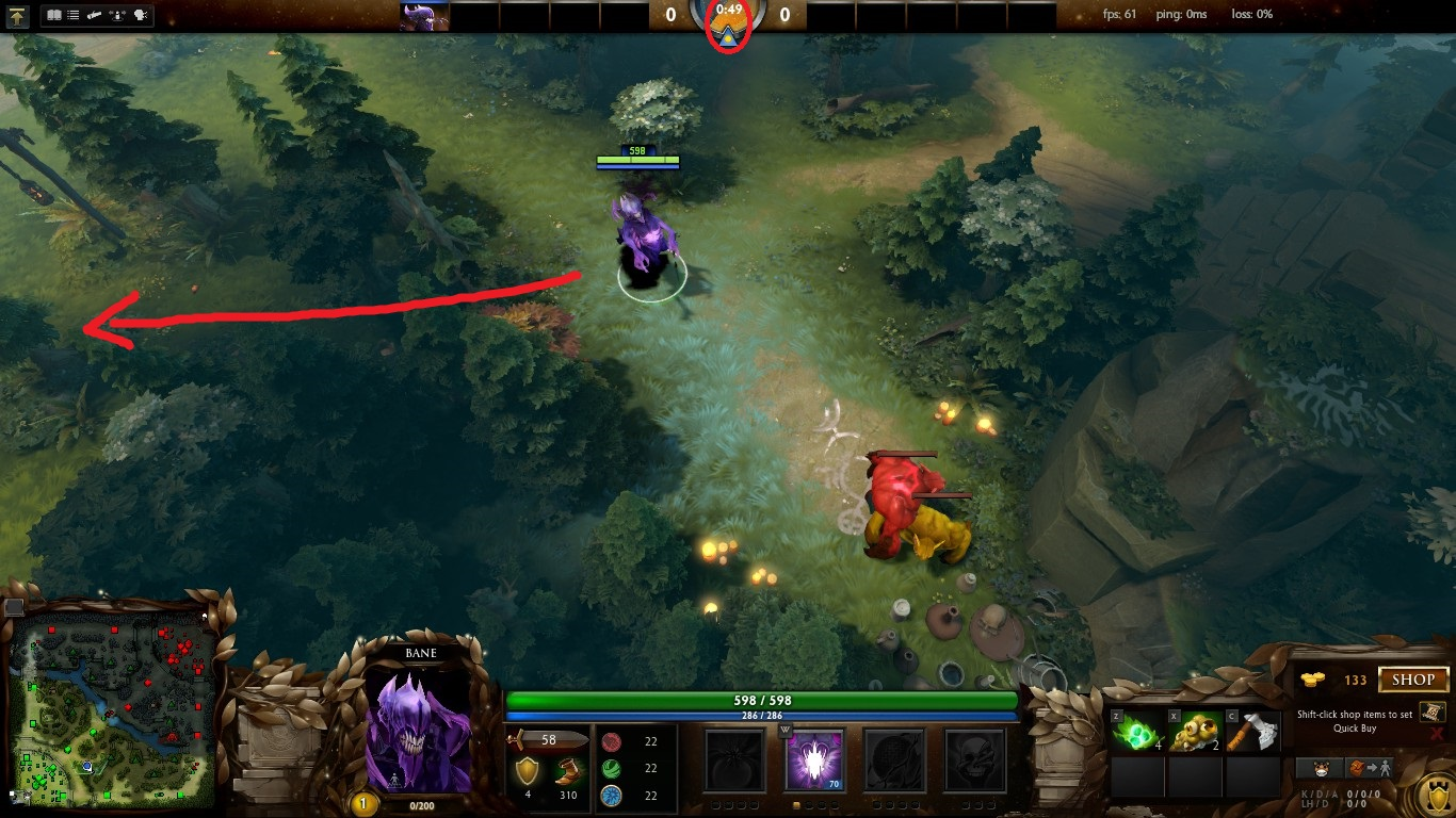 dota 2 how to stack the radiant s neutral creep camps