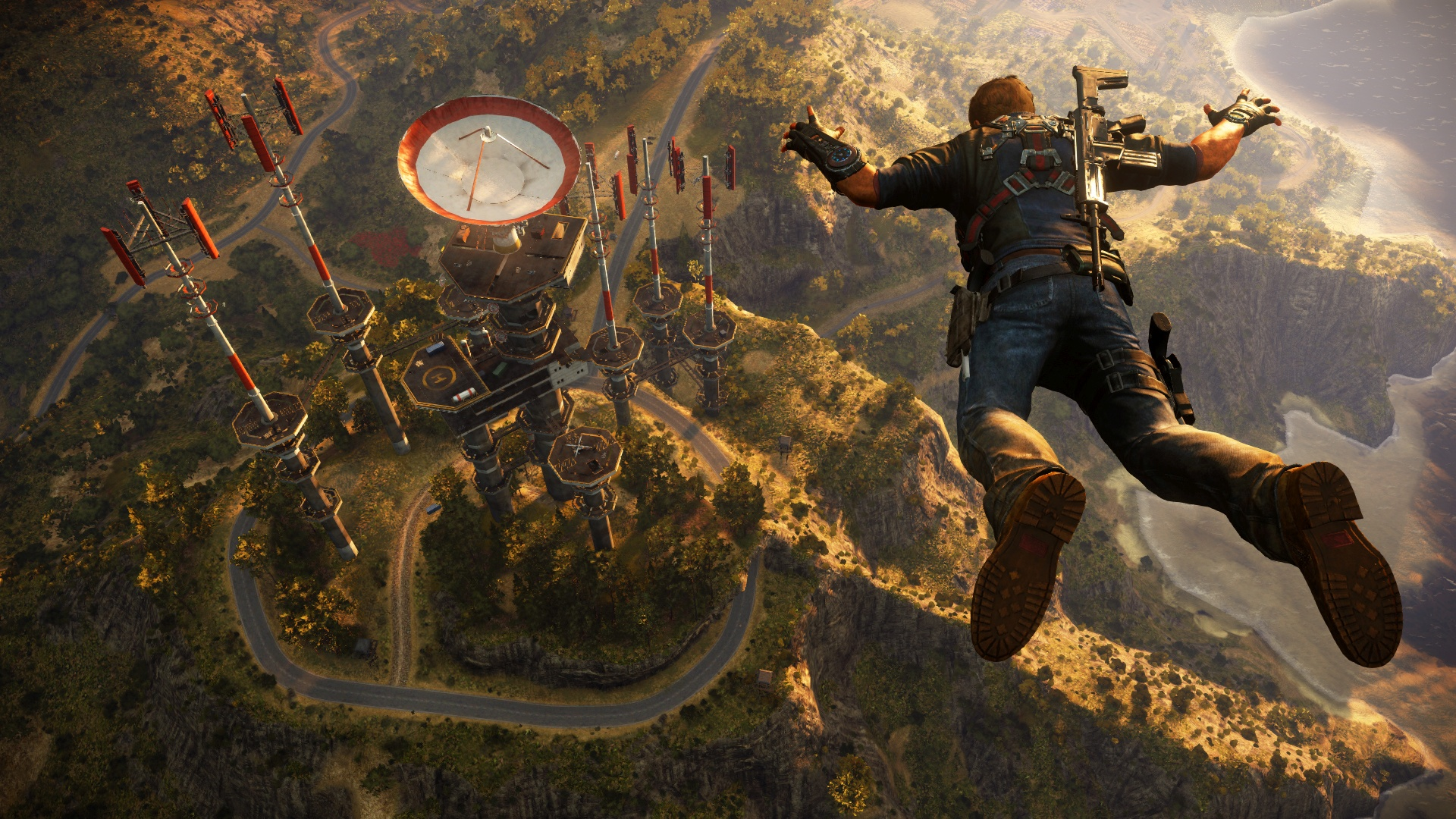 Just Cause 3's Sky Fortress DLC now has a release date