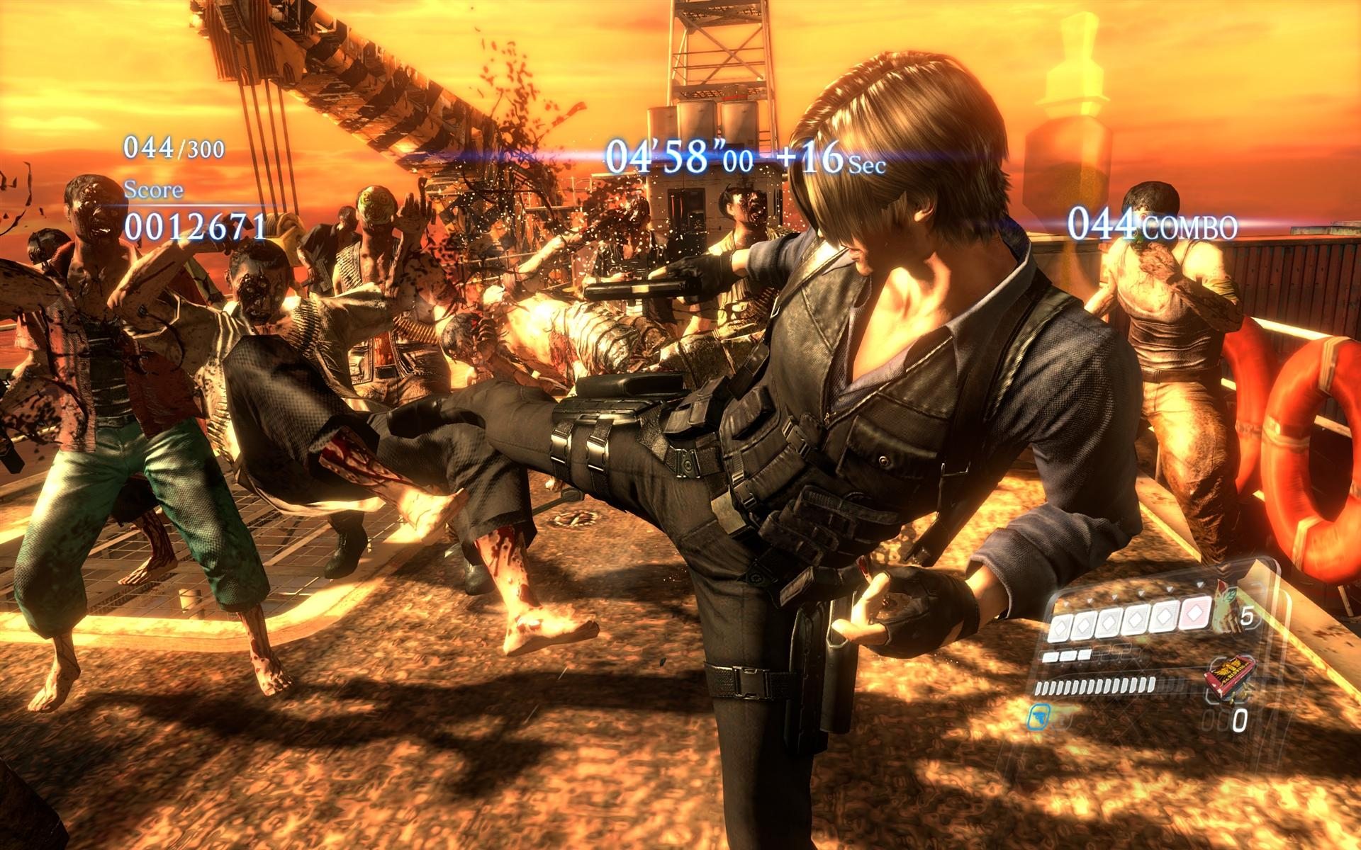 Resident Evil 6: Resident Evil 6 Review (PS4