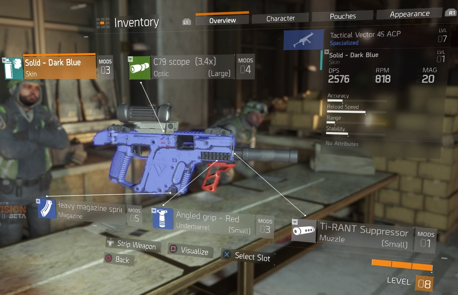 the division weapon skins