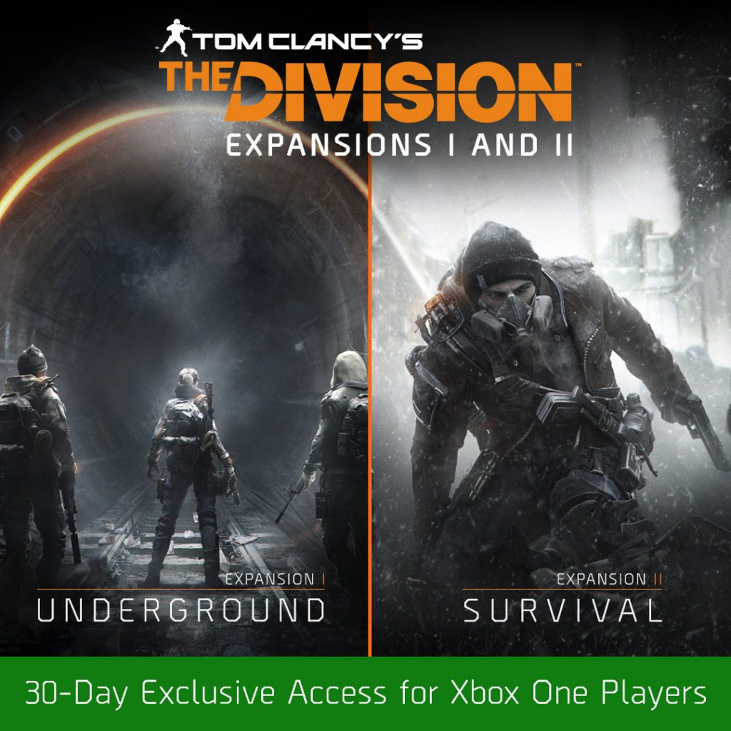 tom clancy 39 s the division xbox one timed exclusivity. Black Bedroom Furniture Sets. Home Design Ideas