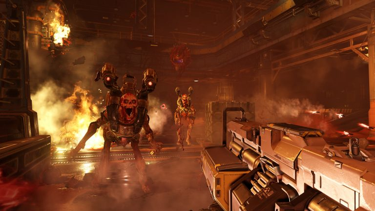 DOOM will receive 4K support on Xbox One X and PS4 Pro