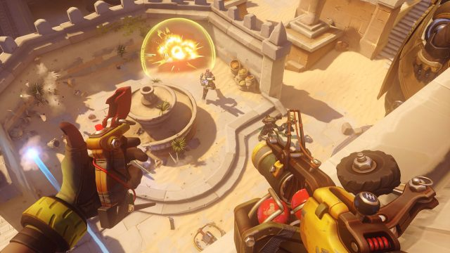 Overwatch day one update on PS4 is 9.6GB, adds new maps & features