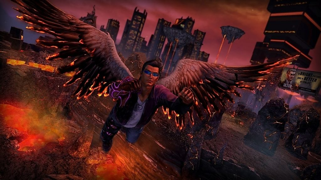 Saints Row Gat out of hell PlayStation Plus