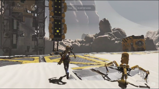 Recore gameplay from E3 2016