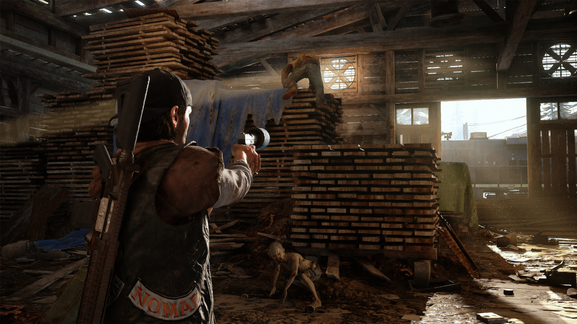 days gone will run at dynamic 4k resolution with hdr on the ps4 pro. Black Bedroom Furniture Sets. Home Design Ideas