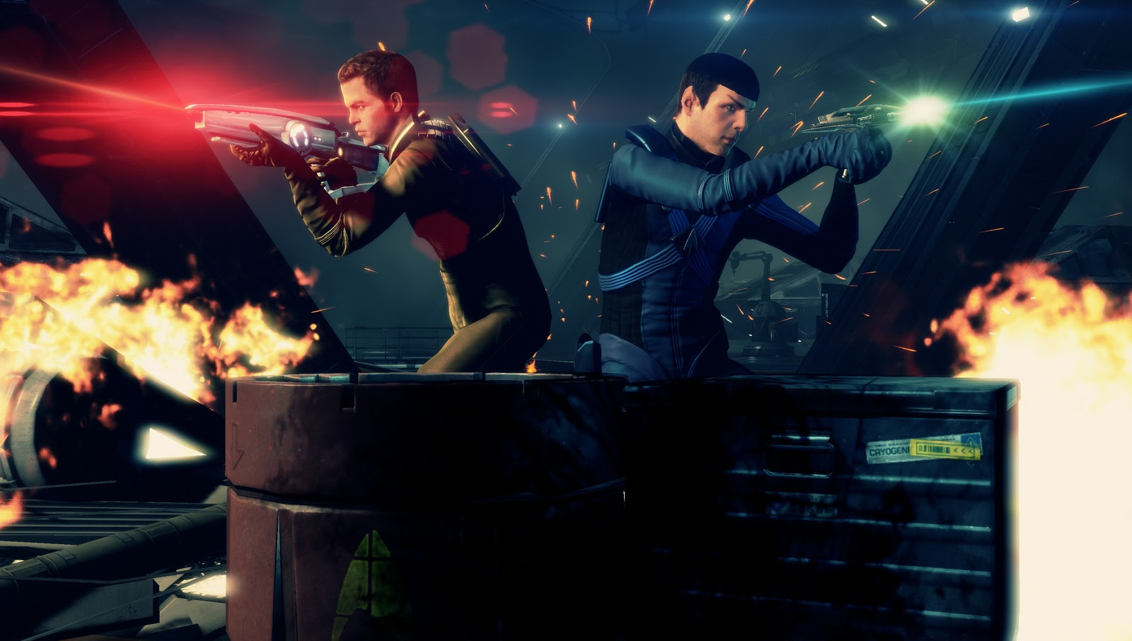 Screenshot from the Star Trek 2 game, no official screenshots for 'Bridge Crew' as yet.