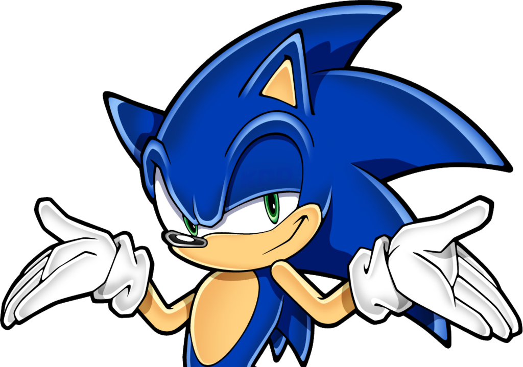 It is a photo of Dynamic Sonic the Hedgehog Images
