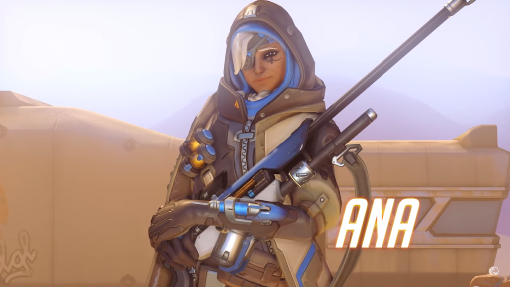 Overwatch gets its first new hero: Ana the healing sniper
