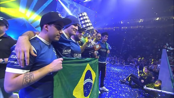Counter Strike Esl One cologne SK Gaming